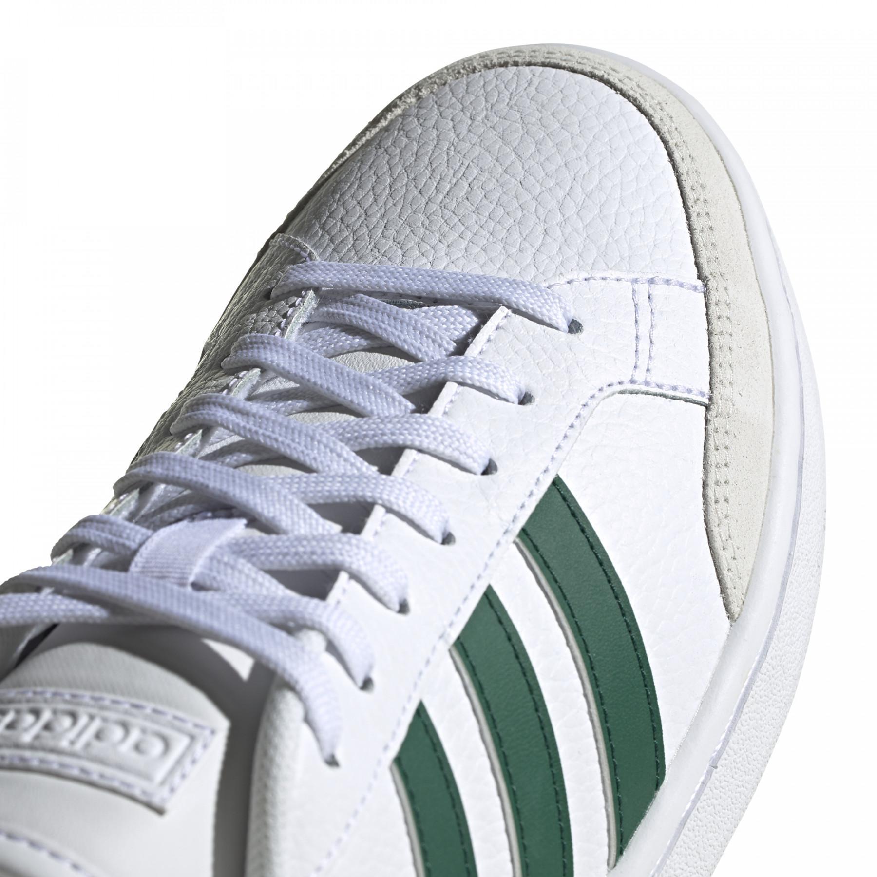 adidas grand court homme vert