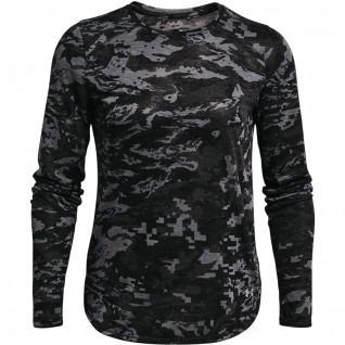 T-shirt femme Under Armour à manches longues Breeze Run