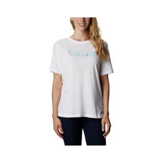 T-shirt femme Columbia Bluebird Day Relaxed Crew Neck
