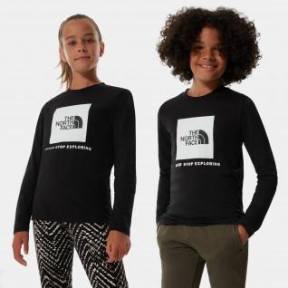 T-shirt junior manches longues The North Face Box Logo