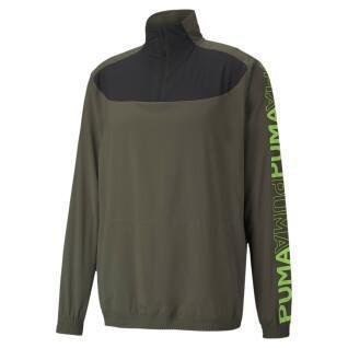 Sweatshirt 1/2 Zip Puma Women