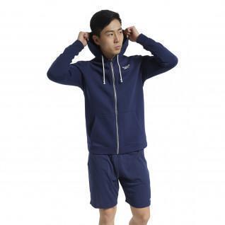 Sweat à capuche Reebok Training Essentials Fleece Zip Up