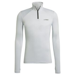 Sweatshirt femme adidas molleton Terrex Everyhike Half-Zip