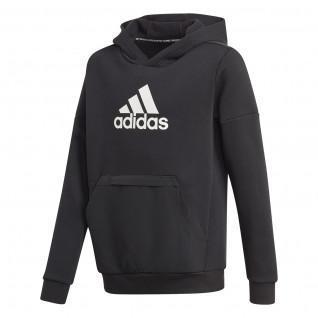 Sweatshirt à capuche enfant adidas Badge of Sport Fleece