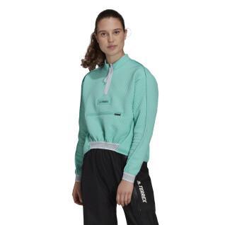 Sweatshirt 1/2 Zip femme adidas Terrex Hike