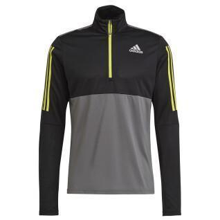 Sweatshirt adidas Own The Run Running 1/2 Zip