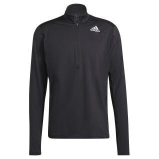 Sweatshirt à zip adidas Own the Run