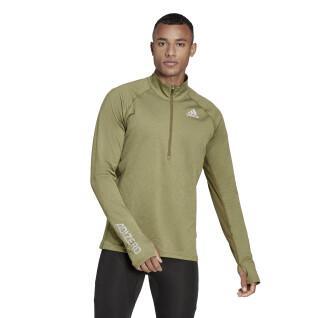 Sweatshirt à zip adidas Adizero Warm
