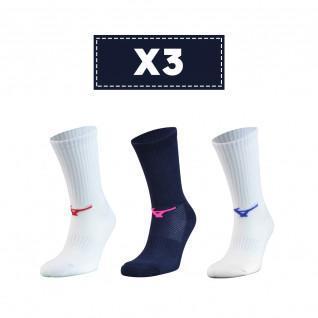 Lot de 3 chaussettes Mizuno Multisports