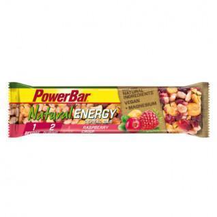 Lot de 24 barres PowerBar Natural Energy Cereals - Raspberry Crisp