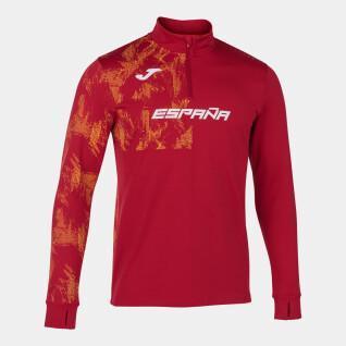 Sweatshirt 1/2 zip Espagne