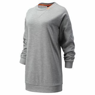 Sweatshirt femme New Balance achiever train fleece