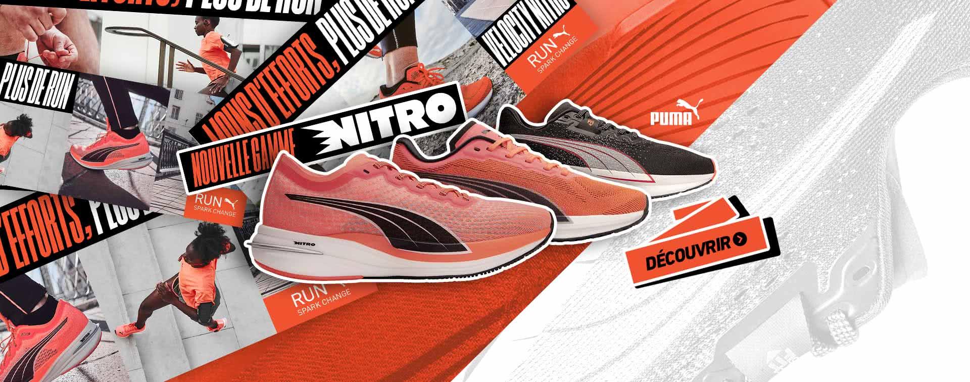 Nouvelle Gamme Puma Nitro